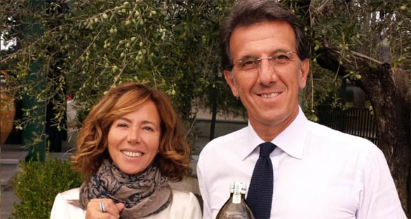 Maria Flora and Zefferino Monini